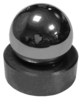 "1-1/8"" Tungsten Carbide Ball and Seat"